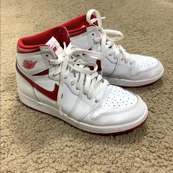 7f20dbc218c Jordan Shoes | 1 Metallic Red Size 5y | Poshmark